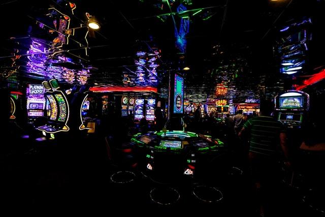 Interessant casinointeriør